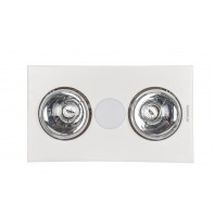 Martec-Forme 2 Light 3 in 1 Bathroom Heater & Exhaust Fan With Tricolour LED Light